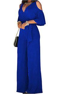 Blue Jumpsuits, Jumpsuits For Women, Plus Size White Jumpsuit, Dress Code Casual, Cheap Womens Tops, Off Shoulder Jumpsuit, Wedding Jumpsuit, Black Jumpsuit, Sequin Jumpsuit