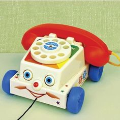 Fisher Price Phone - I had one of these.  :)