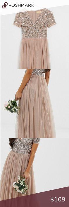 4 Cocktail Dresses Multi Color Sequins /& tulle Skirts White Purple Pink /& Black