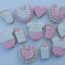 One dozen mini baby themed sugar cookies by jaynessugarshack, $10.75