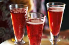 Pomegranate bellinis | Tesco Real Food