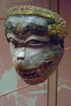 Balinese Wayang Topeng Theater Masks (1)