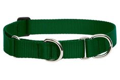 Large Dog Traditional Solids Combo Collar - yes, a martingale that's made in the USA!