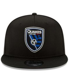 4a7755ba0c1 New Era San Jose Earthquakes On Field 9FIFTY Snapback Cap