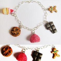 "bracelet ""Gourmandises"""