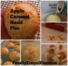 Easy Caramel Apple Pie Recipe  - These are delicious hand made pies to are sooo simple and the perfect treat for your family!!!