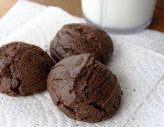 Μπισκότα σοκολάτας χωρίς βούτυρο και με λίγες θερμίδες
