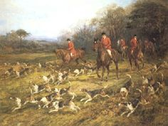 Rituals, ceremonies, and rigid etiquette defined the hunt. The Troxel helmet recaptures the class and tradition of history Fox Hunting, Victorian Era, Love Art, Google Images, Museum, Horses, History, Gallery, Painting