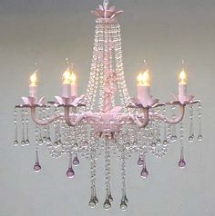 chandeliers shabby and pink chandelier on pinterest chic pink chandelier pink