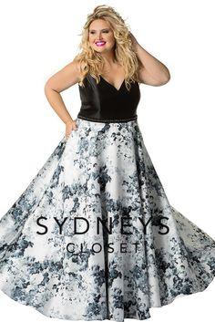 1c1ab347c6a Sydney s Closet Prom Plus Size Formal Dresses