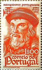 Pedro Álvares Cabral Geboren: 1467, Belmonte, Portugal Overleden: 1520, Santarém, Portugal Zijn eerste zeetocht was naar India