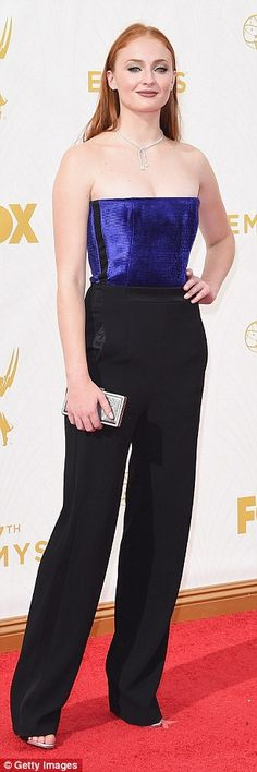 Loving Sophie Turner's luxe look from the Emmys after party!