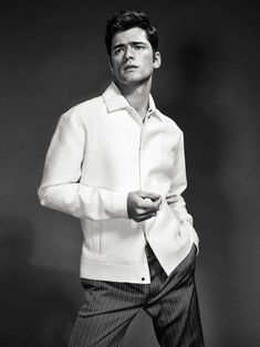 Sean O'Pry shows us why he's one of the fashion industry's highest paid male models in this striking editorial in the March 2017 issue of GQ Spain.