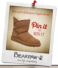 097c8a6acb664 Win a pair of Bearpaw Angela Boots! How to Enter: 1. Follow Bearpaw