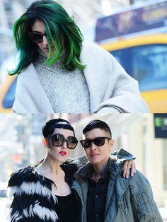 36f7ed7b818 When Streets Turn Into Catwalks! New York Fashion Week 2014 Fall