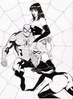 Spider-Man, Mary Jane, Black Cat