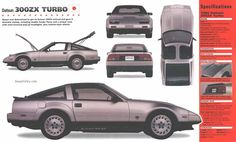 1984 Nissan 300zx Turbo - when Datsun was still part of their name...