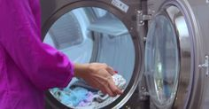Laundry is one of those chores most of us loathe. However, with the sneaky shortcuts and clever hacks in the video below, laundry day is . Laundry Dryer, Doing Laundry, Laundry Hacks, Laundry Room, O Gas, Baking Soda Uses, Household Chores, Fun Activities For Kids, Cool Diy Projects
