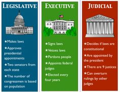 """In case some have forgotten what each branch is """"supposed"""" to do, according to the Constitution: Branches of government. Unfortunately, the Judicial has acquired too much authority and has been overstepping its bounds. 3rd Grade Social Studies, Teaching Social Studies, Teaching History, History Education, Physical Education, Special Education, Art Education, Teaching American History, Teaching Geography"""