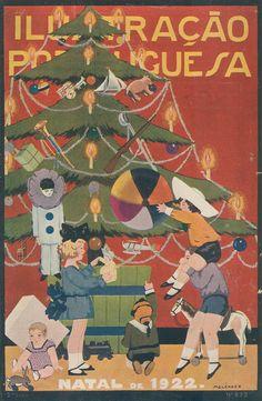 Christmas 1922 - Ilustração Portuguesa