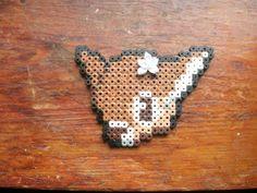Cute Deer Face Perler Beads by GinnysGeekyGoodies