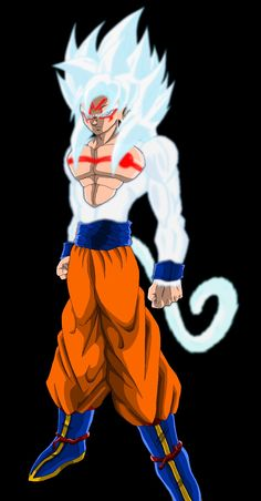 Goku Omni by VorticalFiveStudios on DeviantArt Gogeta Ss4, Ying Yang, Foto Do Goku, Badass Drawings, Goku Wallpaper, Evil Goku, Goku Vs, O Pokemon, Dragon Ball Gt