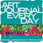 Not an art journal demo but a great link to find loads of art journaling pages everyday. You can also add your won work to the linky list.