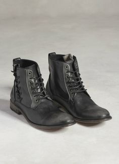Freeman Side Lace Boot