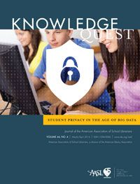 The school librarian plays an integral role in safeguarding student privacy in the age of Big Data. The Mar/Apr issue details how school librarians can help shape their school's privacy policies and educate other educators about the pitfalls of new... Read More ›