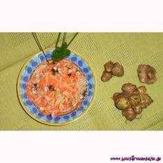 Topinambur-Möhren-Salat