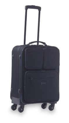 "Swany Walkin'Bag 22 Inch Spinner Carry On Luggage Pocketbag,Black,22"": Amazon.com: Clothing"