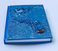 Items similar to Galaxy sea - polymer clay journal. on Etsy Covering Boxes, Abandoned Hospital, Altered Tins, Clay Tiles, Polymer Clay Creations, Journal Covers, Handmade Gifts, Books, Crafts