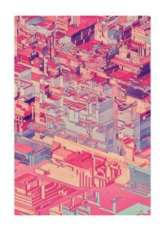 atelier olschinsky | pixel city