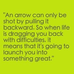 The way to look at setbacks❤