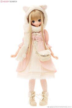 Azone Doll Excute Aika Komorebimori no Dobutsutachi Cat Pure Neemo Japan New Anime Dolls, Blythe Dolls, Kawaii Crush, Dream Doll, Asian Doll, Smart Doll, Creepy Dolls, Little Doll, Anime Figures