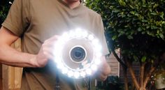 HOW TO BUILD AN UBER STRONG RING LIGHT FOR $25. OK, OK, I am a sucker for ring…