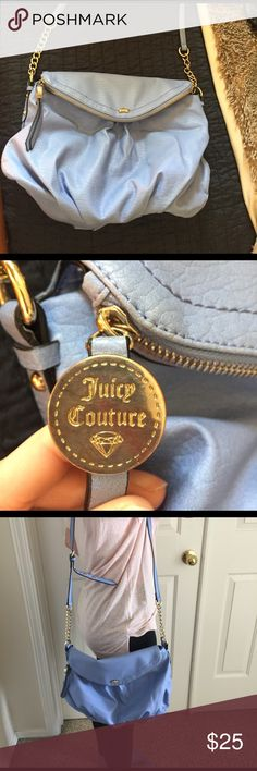 Juicy Couture purse Juicy Couture purse that is a little bigger than a regular cross body. Perfect for spring🌷 Juicy Couture Bags Crossbody Bags