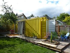 Why Buy When You Can First Try? Experience Shipping Container Living in a Seattle Vacation Rental   Tiny House Living