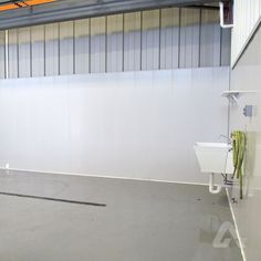 The panels durable smooth surface is moisture, mold and mildew resistant, making it well suited for web environments. Pvc Panels, Mold And Mildew, Commercial Interiors, Wall, Walls