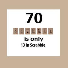 www.minizup.com/amu $8 shipping  70th Birthday Card Funny Birthday Card by DaizyBlueDesigns on Etsy, $4.00