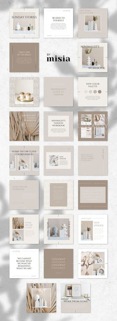 90 Instagram Templates for Canva | Instagram Stories Templates For Canva, Instagram Post Templates For Canva, Beauty Templates, Quotes