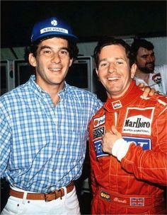 """Ayrton Senna: Brundle Admite: """"O Melhor Da História"""""""