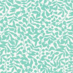 134503 Branch | Turquoise Quilter's Cotton from First Light by Eloise Renouf for Cloud9 Fabrics