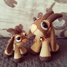 crochet goat amigurumi