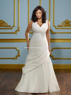 Wedding Dresses, Bridesmaid Dresses, Prom Dresses and Bridal Dresses Mori Lee Julietta Wedding Dresses - Style 3114 [3114] - Mori Lee Julietta Wedding Dresses, Spring 2012. Duchess satin v-neck asymmetrical gown with embroidery and corset back.