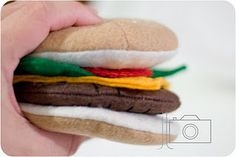 Even more free felt food patterns