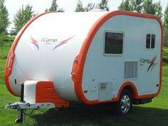 elite exterior small travel trailer