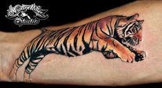 photorealistic tiger tattoo by ~Newagetattoo on deviantART
