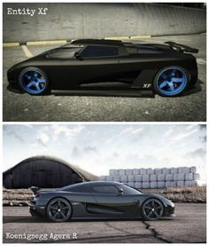 5 of the Coolest GTA V Cars and their real life models. The Entity Xf is styled on the one of the worlds fastest supercars. Check out it! #spon #video#GTAV