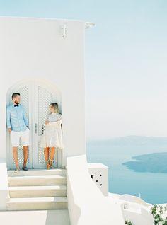Santorini honeymoon shoot - Love4Wed Photo by Peaches and Mint